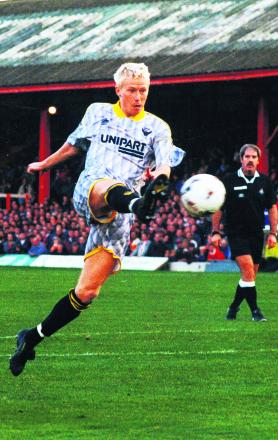 David Rush during his Oxford United days
