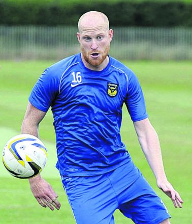 Andy Whing faces a fitness battle to be ready for Oxford United's away clash at Plymouth tomorrow