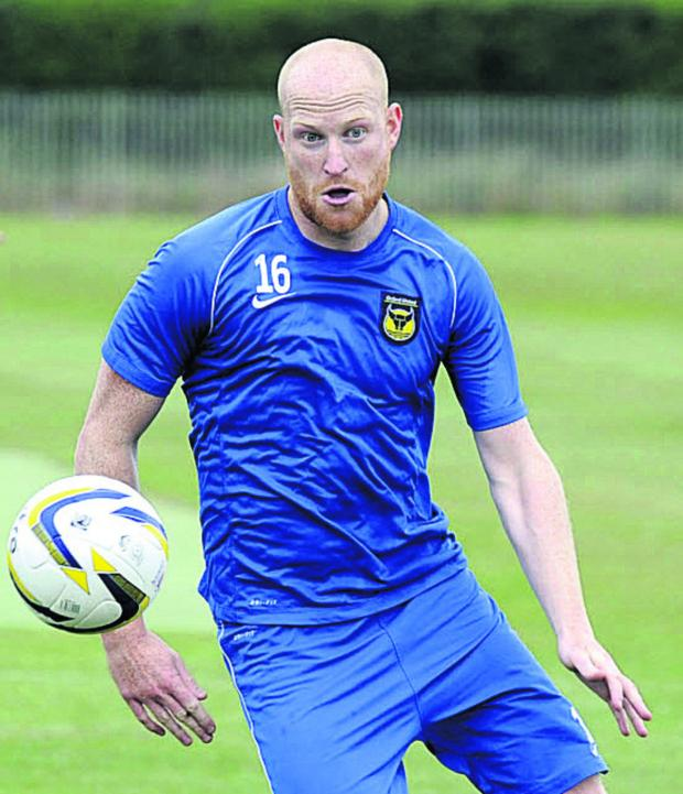 Banbury Cake: Andy Whing is hoping to be back in training by early March