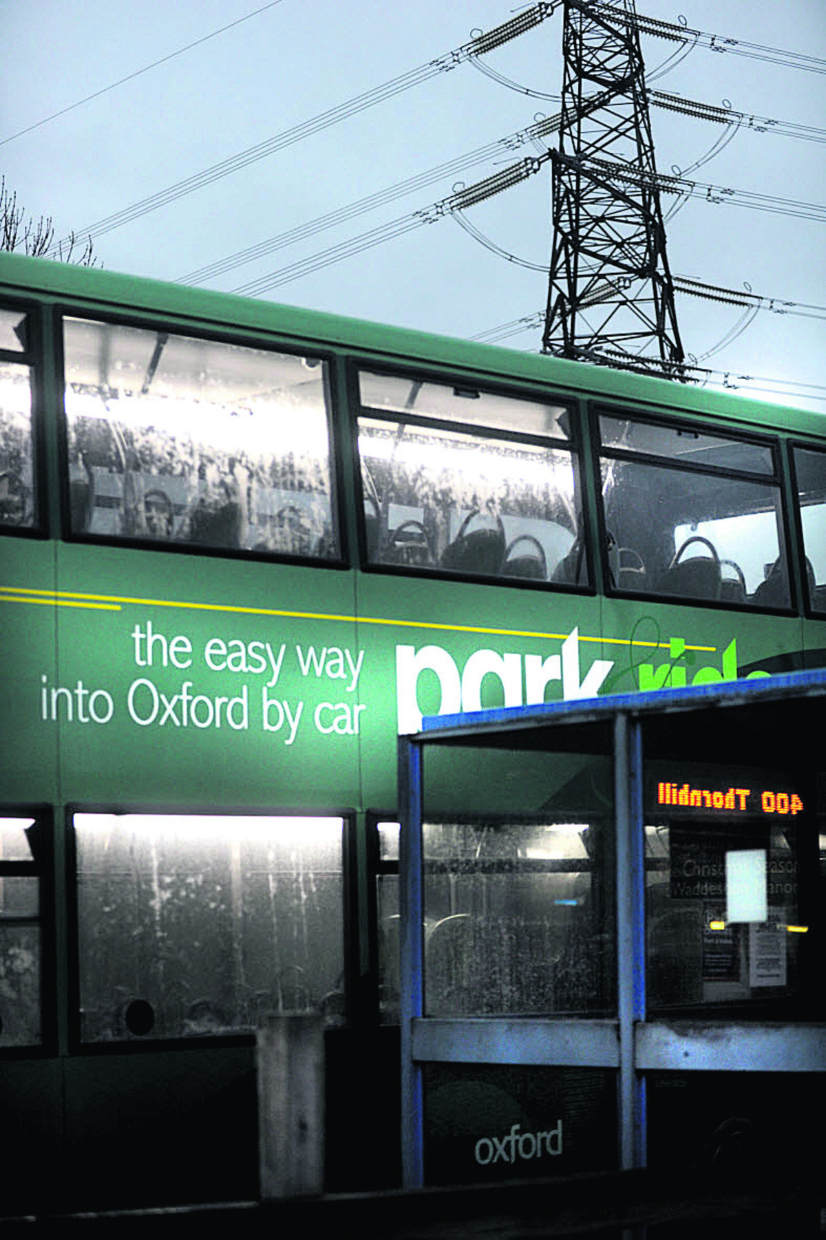 Park-and-Ride services are being diverted