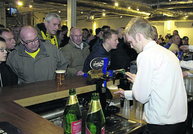 The Yellow Army intend to hold a vote for supporters to come up with a new name for the bar