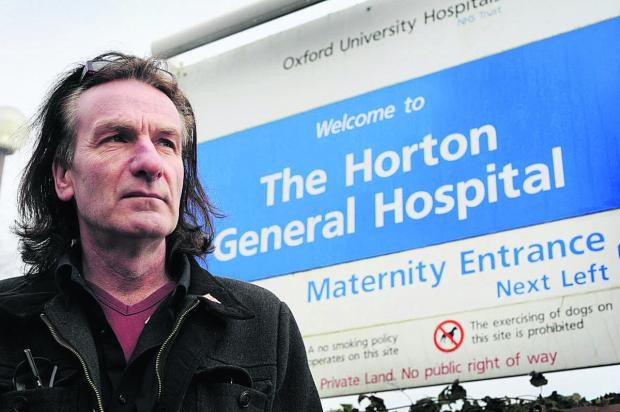 Keith Strangwood, chairman of the Keep the Horton General campaign, says