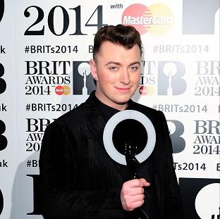 Sam Smith saw his single race to the top of the charts i