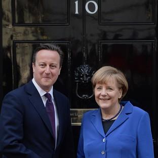 David Cameron has urged Russia to respect Ukraine's sovereignty.