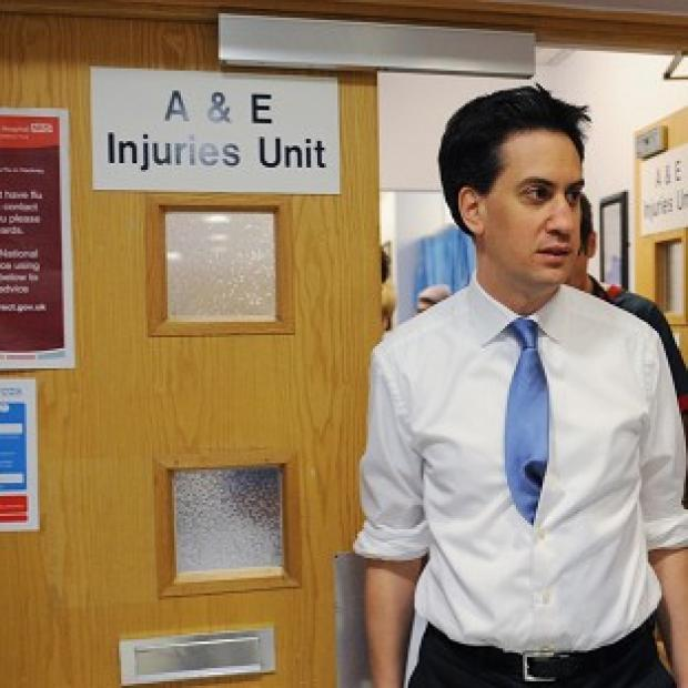 Banbury Cake: Ed Miliband said Labour's health plan would give NHS patients a greater say on their care