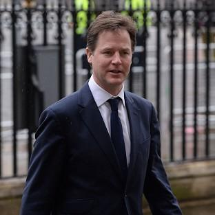 Banbury Cake: Deputy Prime Minister Nick Clegg is to step up his attack on Nigel Farage