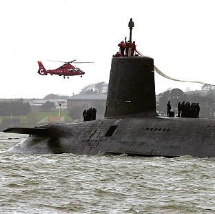 HMS Vanguard is to have its reactor refuelled at a cost of 120 million pounds