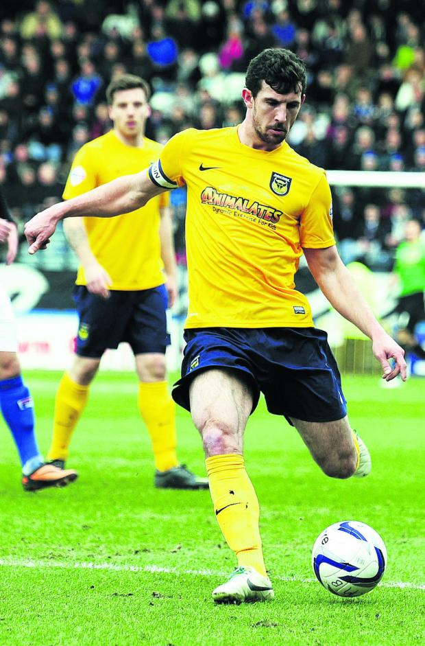 Banbury Cake: Jake Wright is confident Oxford United will get the results needed to go up Picture: David Fleming