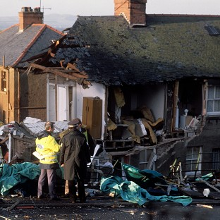 The Lockerbie disaster killed 270 people - all 259 people on board Pan Am Flight 103 and 11 on the ground