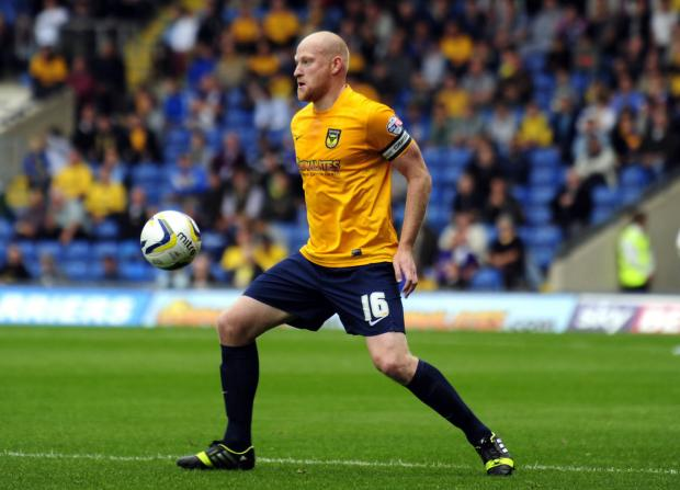 Banbury Cake: Andy Whing has set his sights on bringing Oxford United a much-needed victory tomorrow at Chesterfield