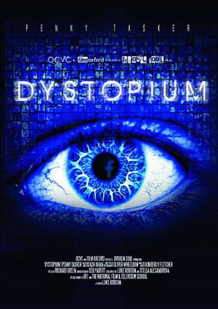 A poster for the film Dystopium