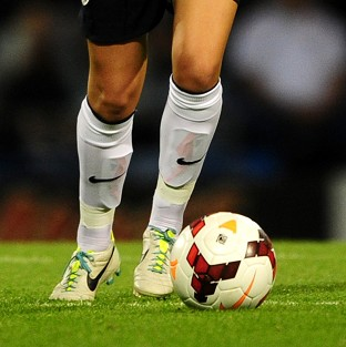 Female footballers sprint less in the second half of matches and give the ball away more than men, a study has found