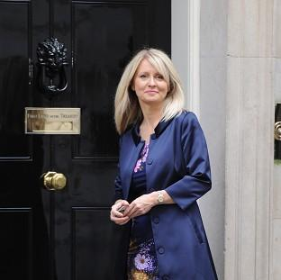 Employment Minister Esther McVey hailed the employment figures