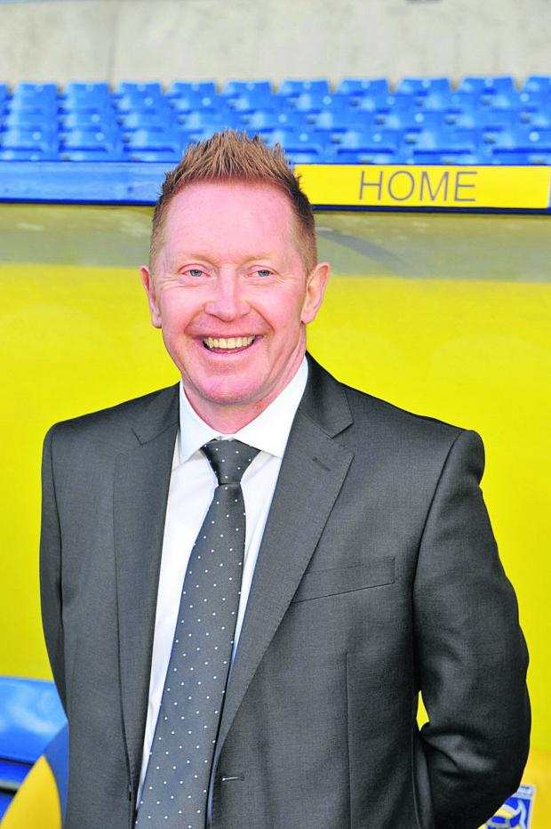 Banbury Cake: New boss Gary Waddock