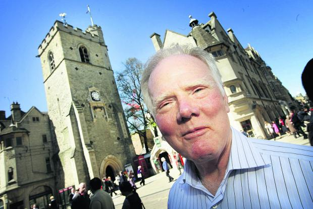 Civic Society chairman Peter Thompson