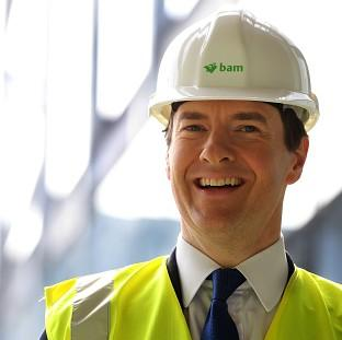 Banbury Cake: Chancellor George Osborne says Britain is going to have the most competitive export finance in Europe