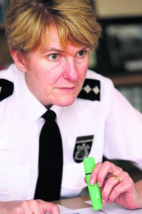 Oxford area deputy police commander Yvette Hitch