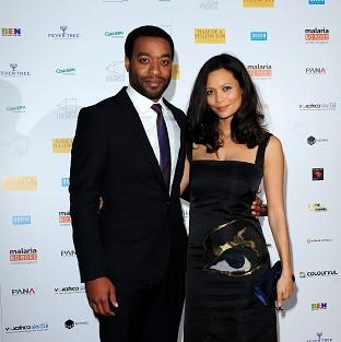 Chiwetel Ejiofer (left) and Thandie Newton attending the premiere of Half of A Yellow