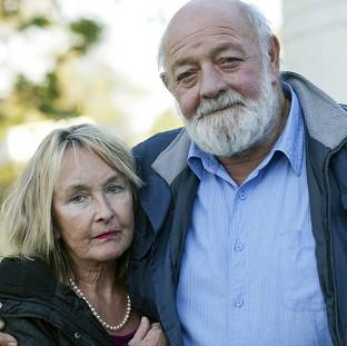 Banbury Cake: June Steenkamp and her husband Barry (Channel 5/PA)