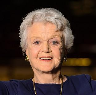 Banbury Cake: Angela Lansbury is honoured for her long career on stage and in TV and films