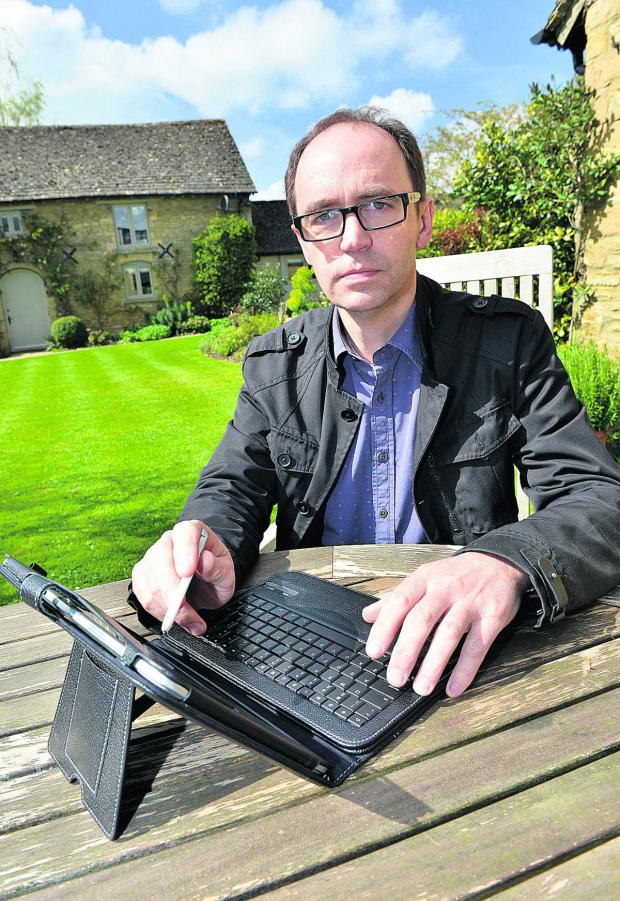 Banbury Cake: Hugo Pickering, who set up the Cotswold Broadband group in 2011