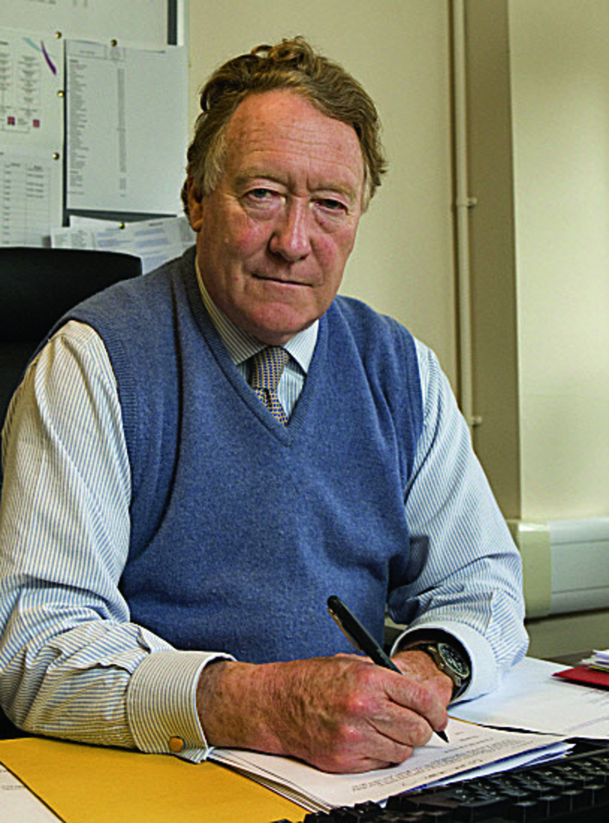 Police and crime commissioner Anthony Stansfeld