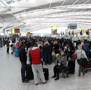 An IT glitch is understood to be causing delays at several airports