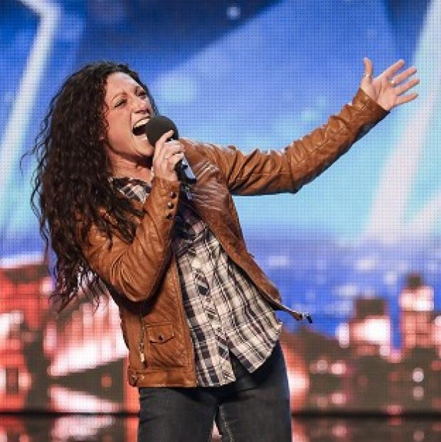 Banbury Cake: Eva Iglesias auditions for Britain's Got Talent