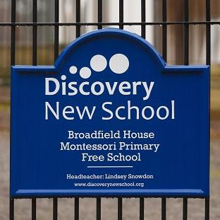 Banbury Cake: Pupils at a free school, understood to be Discovery New School in West Sussex, which was closed down amid standards concerns  had been 'taught nothing', a union leader is claiming