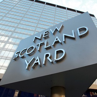 Scotland Yard said the police car was on its way to an incident when the col