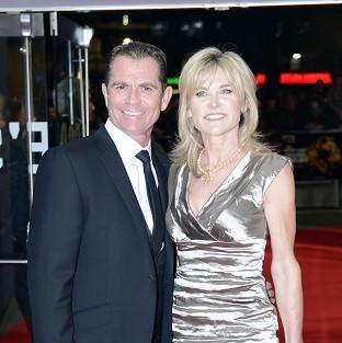 Anthea Turner and Grant Bovey ended their 13-year-marriage