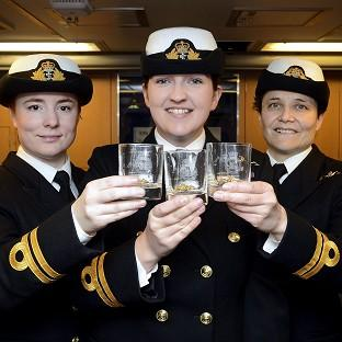 Women already serve as submariners with the Royal Navy.