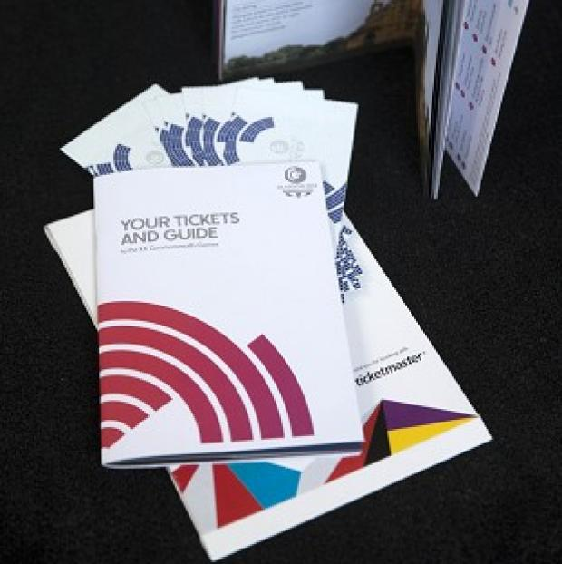 Banbury Cake: Tickets and a guide for the Glasgow 2014 Commonwealth games are being sent out today