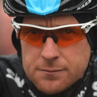 Sir Bradley Wiggins, pictured, won the second stage of the Tour of California