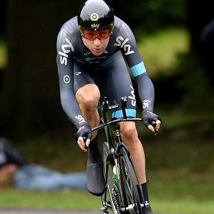 Sir Bradley Wiggins is 24 hours away from claiming victory at the Tour of California