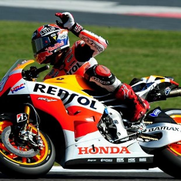 Banbury Cake: Marc Marquez raced up from 10th place to win the France MotoGP