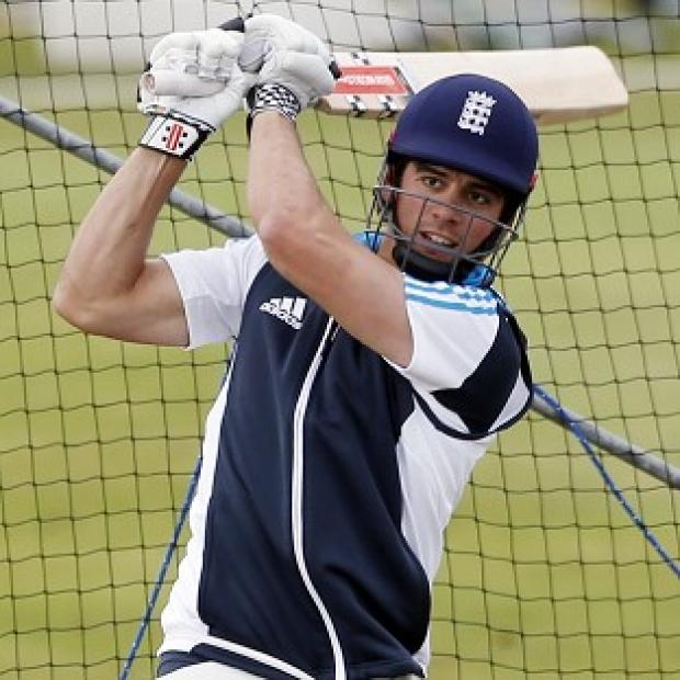 Banbury Cake: Michael Vaughan believes Alastair Cook, pictured, will be under pressure to deliver this summer