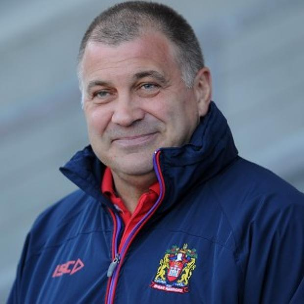Banbury Cake: Shaun Wane was a happy man after the win over Salford