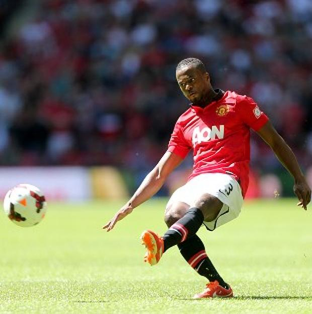 Banbury Cake: Patrice Evra is staying at Old Trafford