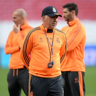 Carlo Ancelotti nearly has a fully fit squad to choose from