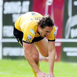 Luke Dorn, pictured, is back for Castleford