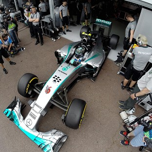 Rosberg to keep Monaco pole