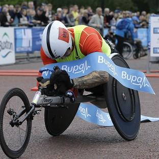 David Weir could not break the three-minute mile. (AP)