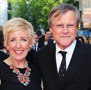 Banbury Cake: David Neilson and Julie Hesmondhalgh took a handful of gongs at the Soap Awards.