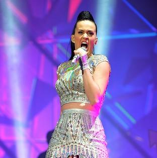 Banbury Cake: Katy Perry performing during Radio 1's Big Weekend at Glasgow Green in Glasgow.