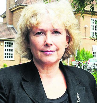 Sue Croft, the principal of Oxford Spires Academy
