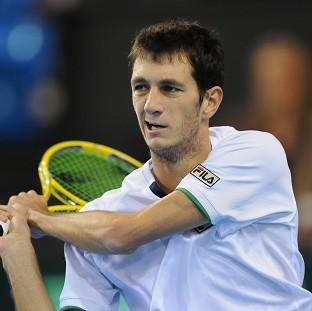 James Ward lost in four sets to Tommy Robredo in the first round of the French Open