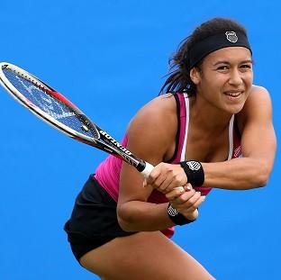 Heather Watson is through to the second round at Roland Garros