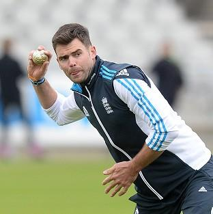 James Anderson will be giv