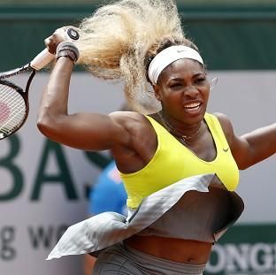 Serena Williams is the latest big name to crash out of the French Open (AP)